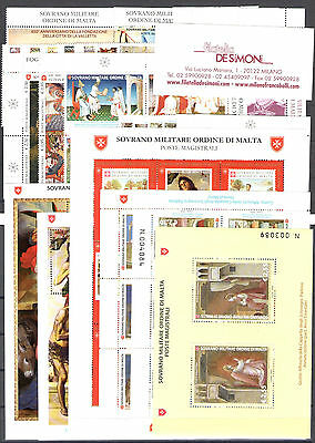 2016 Smom Complete Year 36 values + 6 Souvenir Sheets MNH