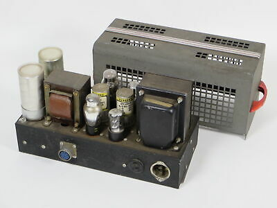 Vintage Tube Regulated Power Supply For Elkin Radio Console Amp?  6X5GT 0B3