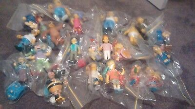 Simpsons 22 World of Springfield Action Figures - Free postage