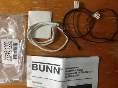 Bunn frozen drink slush ULTRA & CDS machine 27246.1000 sensor kit