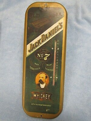Jack Daniels Whisky Advertising Thermometer