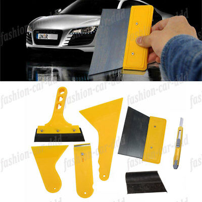 Cleaning Wrap Window Car Tint 7pcs Tool Kit for Auto Vinyl Squeegee Scraper Film