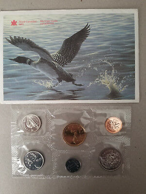 1992 Double Date Canada Proof like Coin Set - Uncirculated Coins