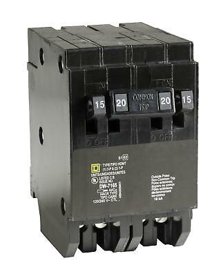 Square D by Schneider Electric HOMT1515220CP Homeline 2-15-Amp Single-Pole