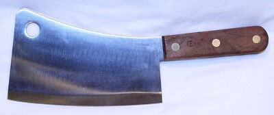 "Case Xx Meat Cleaver ""the Early Americans"" 674 Stainless"