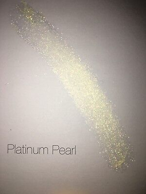 Mica Powder Cosmetic Grade. Candles. Bath bombs. Soap. Platinum Pearl. 10g.