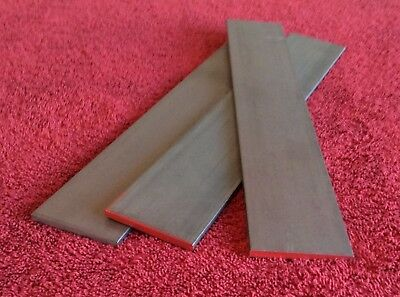 "1084 High Carbon Steel 3/16"" x 2"" x 12"" (lot 3  pcs) FORGING STOCK KNIFE MAKING"