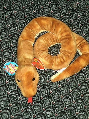 """Ty Slithery The 2.0 Beanie Snake - 32"""" Long - Unused Code- 2008 -Mwmt"""