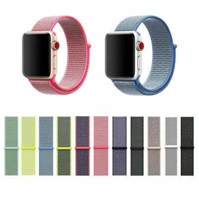 Nylon Woven Straps for Apple Watch iWatch Band 38mm/42mm Sport Loop Bracelet