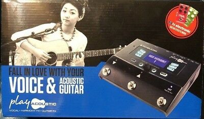 *TC Helicon Voice Live Play Acoustic Guitar Vocal Effects FX Pedal Processor*