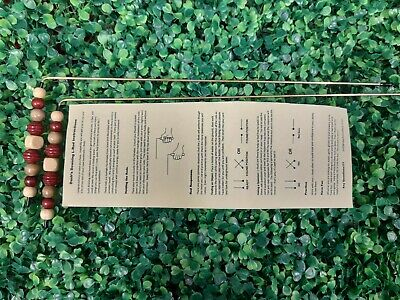 R03 Dowsing Rods Divining L-Rods - handcrafted Brass, Water, Ghosts, Gems