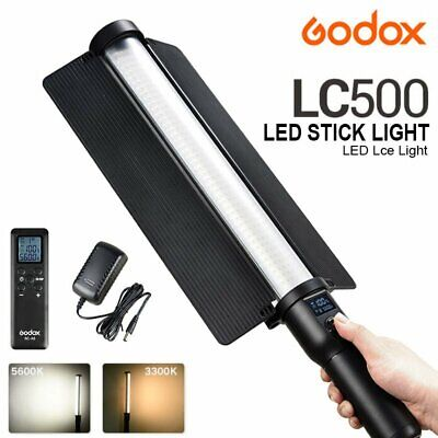 Godox LC500 18W Adjustable Handle LED Light Stick 3300-5600K + Remote Control