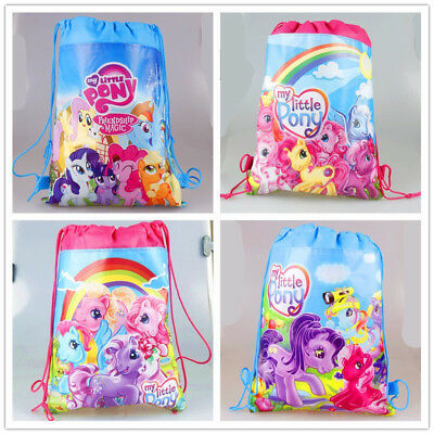 MY LITTLE PONY Drawstring Bag Backpack Swim Book shoe Sports Party Gift Birthday