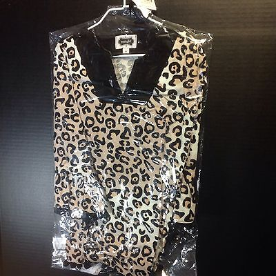 Mud Pie Size 4T LEOPARD TUNIC DRESS Corduroy Toddler Girls Retail $41.00 NWT