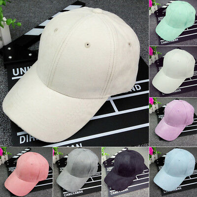 0b8366aa1 UNISEX MEN WOMEN Blank Baseball Cap Plain Bboy Snapback Hats Hip-Hop  Adjustable