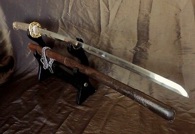 Superb  Ww2 Japanese Officer Gunto Sword  With Old Familly Shinto Blade