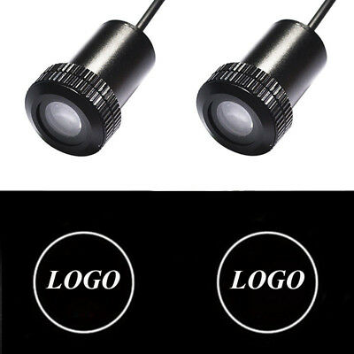 2x for NISSAN Auto Doors Light Car LED Logo Projector Ghost Shadow Laser Lights