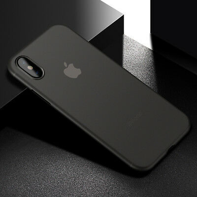 For iPhone 5 6 6S 7 Plus X Ultra Thin Slim PP Case Luxury Protective Back Cover