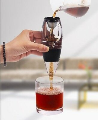 Wine Aerator Decanter Pourer Red Aerating Spout Bottle Set Essential New Filter