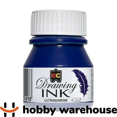 Educational Colours Drawing Ink 30ml - Ultramarine