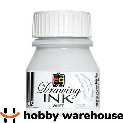 Educational Colours Drawing Ink 30ml - White
