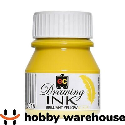 Educational Colours Drawing Ink 30ml - Brilliant Yellow