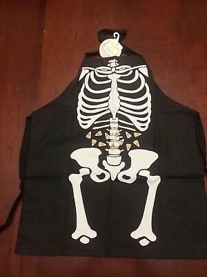 Halloween  Youth Skeleton Apron Glow in the Dark