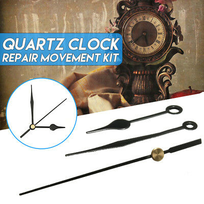 Replacement Clock Hands DIY Wall Mechanism Quartz Repair Movement Tool Kit Set