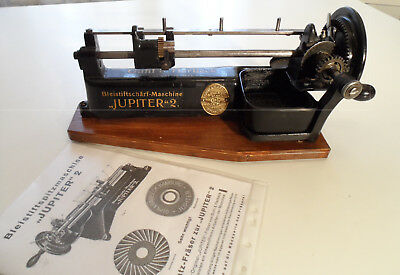 JUPITER pencil sharpener,  temperamatite, Bleistiftspitzer