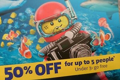 Sealife Centres 50% Off Entry Code. Up to 5 People! Valid until 31st Dec 2018.