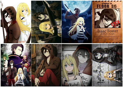 Satsuriku no Tenshi Angels Of Death Polypropylen 8 Stücke A3 Wand Kunst PPP041