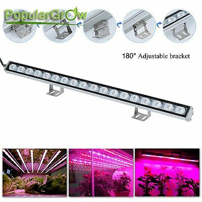 54w LED Grow Light Bar Red&Blue plant lamp Hydroponics Indoor hydro Plant Lamp