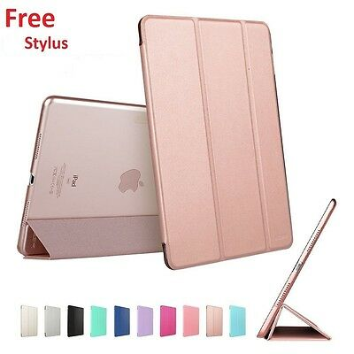 Smart Stand Magnetic Leather Cover For APPLE iPad Air 4 3 2 Mini iPad 9.7 (2018)