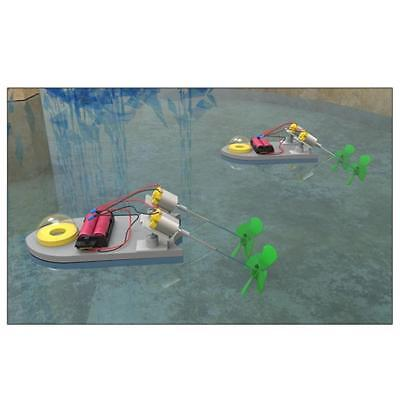 RC Speedboat Remote Control Boat DIY Power Boat Yacht Assembly Model Kids Toys