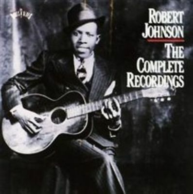 Robert Johnson The Complete Recordings 2 Disc PreOwned Used CD Case Damaged
