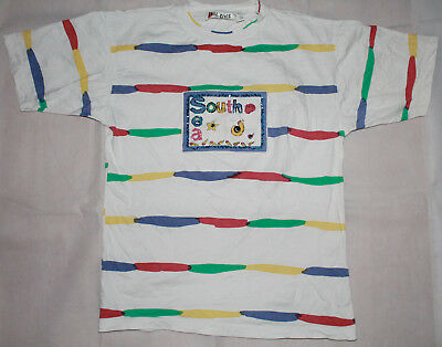 VINTAGE Freestyle T-Shirt Sea Side 34/36 L-XL 90er 90s bunt