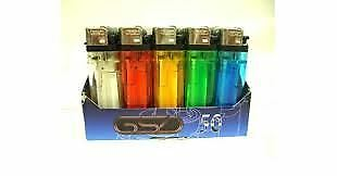 GSD Child Resistant Disposable Lighters x 50