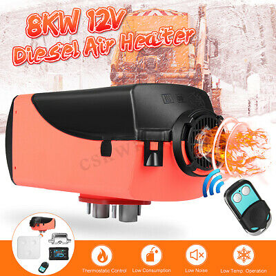 12V 8KW Diesel Air Heater Planar For Trucks, Motor-Homes, Boats, Bus Silencer
