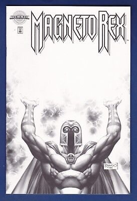 Magneto Rex #1  Marvel Authentix Limited Variant w/coa 1999 Brandon Peterson