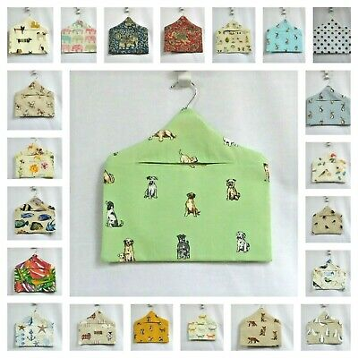 New handmade peg bag cotton peg bag clothes peg bag wooden swivel hanger