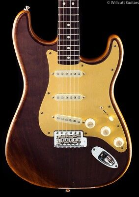 Fender Willcutt Guitars 50th Anniversary Walnut Roasted Stratocaster (809)