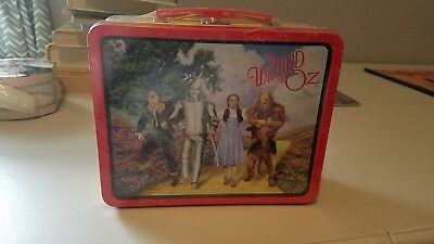 The Wizard Of Oz Lunch Box Tin Vintage With cookies still sealed