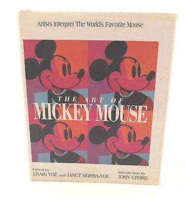 The Art Of Mickey Mouse Book Yoe 1981 Edition Hardback