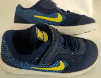 Nike Revolution 3 Toddler Boys Navy Blue Athletic Sneakers Shoes Size 8 8C 7a23cc205924