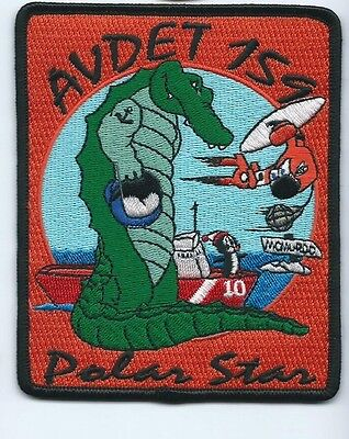 USCG United States Coast Guard Patch Avdet 159 (10) Polar Sea 4-1/2 X 3-5/8