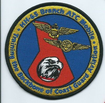 USCG United States Coast guard patch HH-65 Branch ATC Mobile 4 in dia