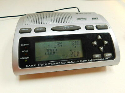 Midland wr-300 weather radio owner's manual.