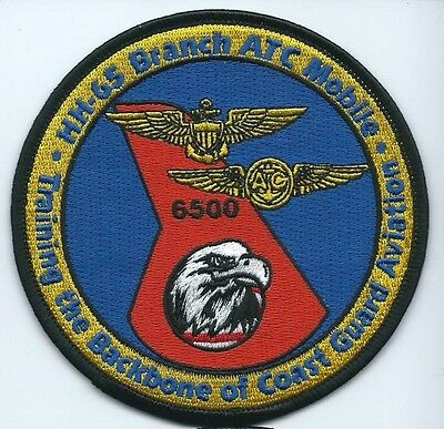 USCG United States Coast guard patch HH-65 Branch 6500 ATC Mobile 4 in dia