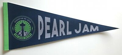 Pearl Jam seattle pennant 2018 safeco field mariners the home shows new 6d32fa292ac0