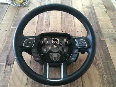 2014 Range Rover Evoque Steering Wheel BJ3M-3F563 With Flappy Paddle